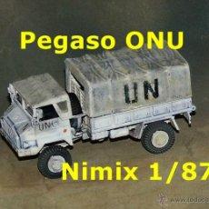 Trenes Escala: PEGASO TROPA ONU. Lote 54397104