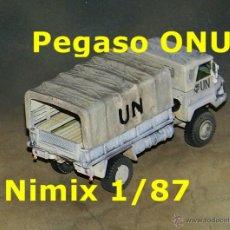 Trenes Escala: PEGASO TROPA ONU. Lote 54397233