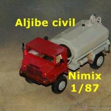 Trenes Escala: ALJIBE CIVIL. Lote 54397376