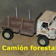 Trenes Escala: CAMIÓN FORESTAL TODOTERRENO. Lote 54397531