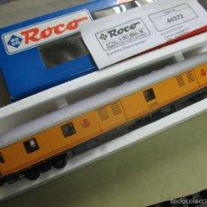 Trenes Escala: FURGON RENFE ROCO AMARILLO. Lote 57370124
