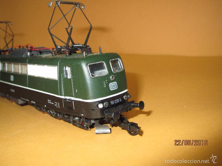 Trenes Escala: Descatalogada Locomotora Eléctrica BR 151 en Escala *H0* Corriente Continua de ROCO - Foto 2 - 57733867