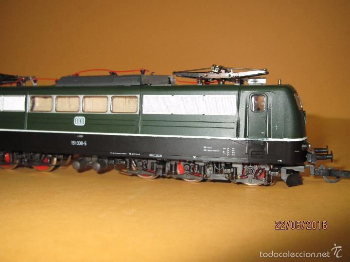 Trenes Escala: Descatalogada Locomotora Eléctrica BR 151 en Escala *H0* Corriente Continua de ROCO - Foto 3 - 57733867