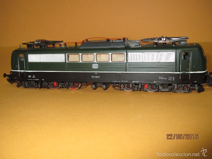 Trenes Escala: Descatalogada Locomotora Eléctrica BR 151 en Escala *H0* Corriente Continua de ROCO - Foto 4 - 57733867