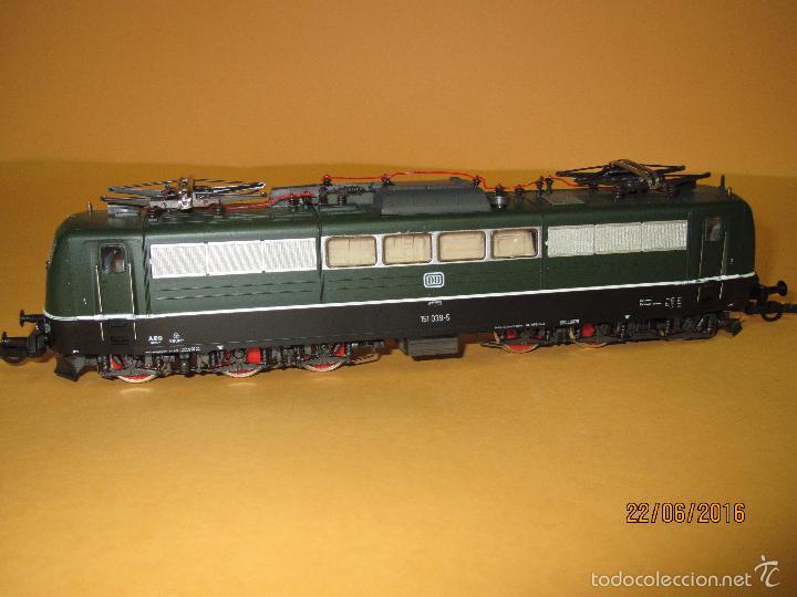 Trenes Escala: Descatalogada Locomotora Eléctrica BR 151 en Escala *H0* Corriente Continua de ROCO - Foto 7 - 57733867