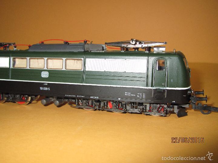 Trenes Escala: Descatalogada Locomotora Eléctrica BR 151 en Escala *H0* Corriente Continua de ROCO - Foto 8 - 57733867