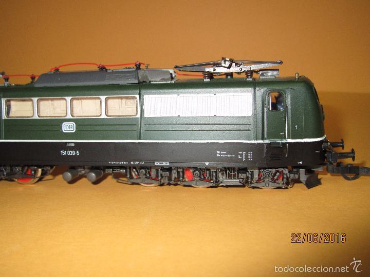 Trenes Escala: Descatalogada Locomotora Eléctrica BR 151 en Escala *H0* Corriente Continua de ROCO - Foto 11 - 57733867