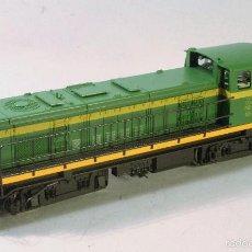 Trenes Escala: ROCO #1266. ESCALA H0. LOCOMOTORA D307 007-5 RENFE. VALENCIANA. DC CONTÍNUA. DIGITAL. Lote 57989480