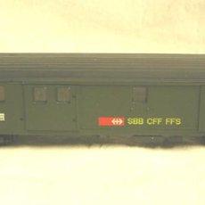 Trenes Escala: VAGON PASAJEROS CON LUZ. Lote 58108885