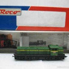 Trenes Escala: ROCO - LOCOMOTORA DIESEL RENFE 307-004-2 CORRIENTE CONTINUA - ESCALA H0. Lote 59273325