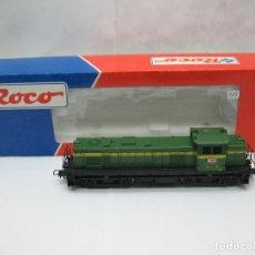 Trenes Escala: ROCO REF: 43469 - LOCOMOTORA DIESEL RENFE 307-004-2 CORRIENTE CONTINUA - ESCALA H0. Lote 61722160