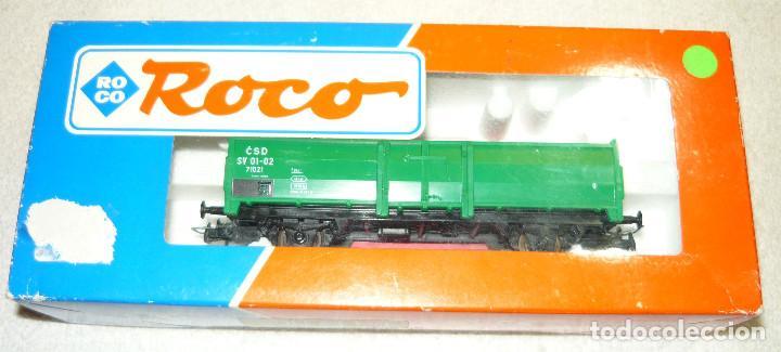 VAGON DE CARGA ROCO 48037 H0 (Juguetes - Trenes a Escala H0 - Roco H0)