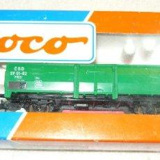 Trenes Escala: VAGON DE CARGA ROCO 48037 H0. Lote 67039662