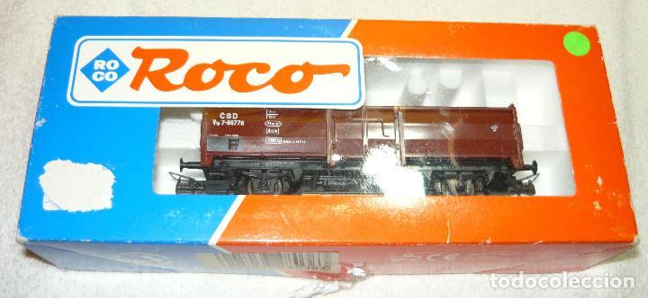 VAGON DE CARGA ROCO 48036 H0 (Juguetes - Trenes a Escala H0 - Roco H0)
