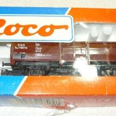 Trenes Escala: VAGON DE CARGA ROCO 48036 H0. Lote 67039886