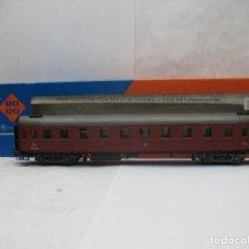 Trenes Escala: ROCO REF: 4289B - COCHE DE PASAJEROS DE LA SJ 2KL - ESCALA H0. Lote 67577965
