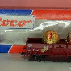 Trenes Escala: ROCO H0 - 47692 - VAGÓN ABIERTO - MIRABELL - CON CAJA ORIGINAL. Lote 68982313