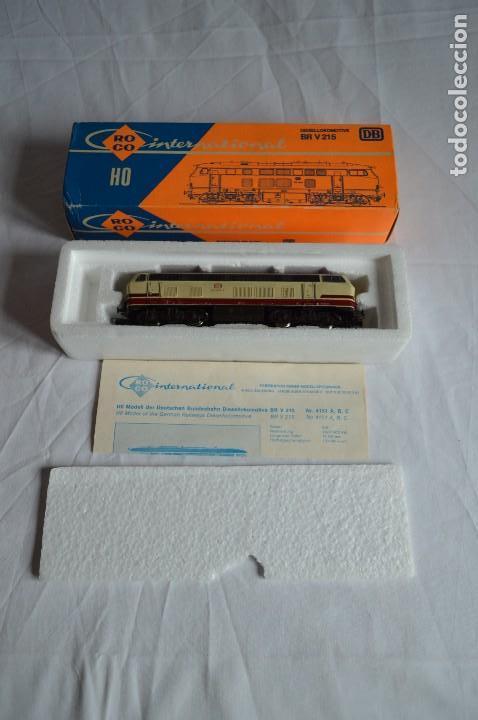 Trenes Escala: Locomotora BR V215 de la DB. H0. Roco. romanjuguetesymas. - Foto 5 - 69388177