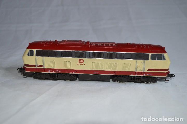 Trenes Escala: Locomotora BR V215 de la DB. H0. Roco. romanjuguetesymas. - Foto 6 - 69388177