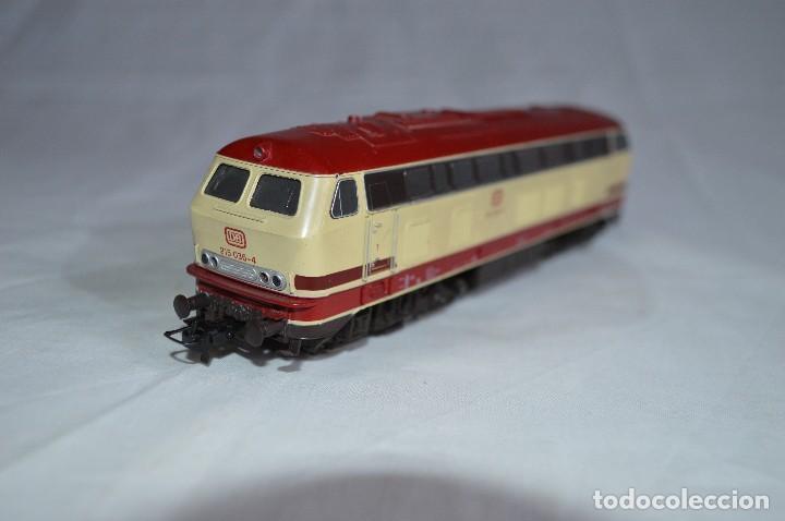Trenes Escala: Locomotora BR V215 de la DB. H0. Roco. romanjuguetesymas. - Foto 7 - 69388177