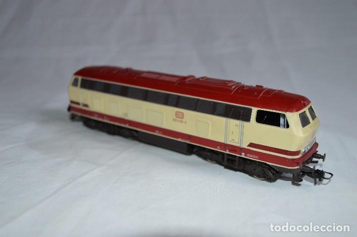 Trenes Escala: Locomotora BR V215 de la DB. H0. Roco. romanjuguetesymas. - Foto 8 - 69388177