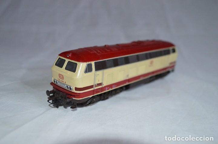 Trenes Escala: Locomotora BR V215 de la DB. H0. Roco. romanjuguetesymas. - Foto 9 - 69388177