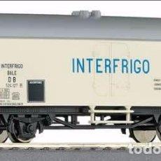 Trenes Escala: ROCO 56113 VAGÓN DE MERCANCIA REFRIGERADA INTERFRIGO DB. Lote 71926835