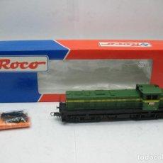 Trenes Escala: ROCO REF: 43469 - LOCOMOTORA DIESEL RENFE 307-004-2 CORRIENTE CONTINUA - ESCALA H0. Lote 72759187
