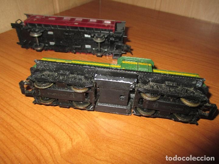 Trenes Escala: ROCO H0: VAGON + LOCOMOTORA RENFE - 305-040-8 - Foto 2 - 73018483