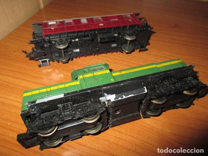 Trenes Escala: ROCO H0: VAGON + LOCOMOTORA RENFE - 305-040-8 - Foto 3 - 73018483