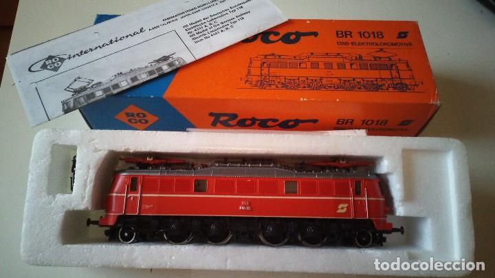 LOCOMOTORA OBB BR 1018 REFERENCIA 04141E ROCO (Juguetes - Trenes a Escala H0 - Roco H0)