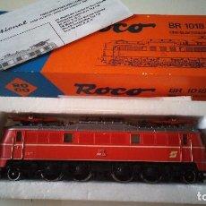Trenes Escala: LOCOMOTORA OBB BR 1018 REFERENCIA 04141E ROCO. Lote 81936136