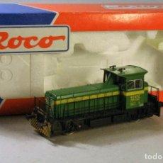 Trenes Escala: ROCO. ESCALA H0. LOCOMOTORA DIESEL RENFE 309.032.1 DIGITAL. CONTÍNUA.. Lote 82937632