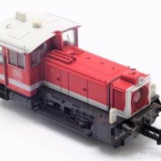 Trenes Escala: LOCOMOTORA MANIOBRAS COMEINDER DEUTSCHE BAHN 43437. CORRIENTE CONTINUA ANALÓGICA. Lote 88779764