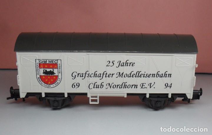 Trenes Escala: ROCO H0 - Vagón refrigerado - Edición conmemorativa 25 años - Graf MEC - Foto 3 - 92848985
