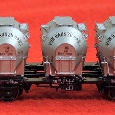 Trenes Escala: VAGON MERCANCIAS VON HAUS ZU HAUS ROCO HO. Lote 129664819