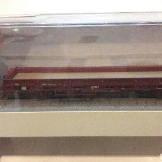 Trenes Escala: VAGON PLATAFORMA HO ROCO MINITANKS 884. Lote 98551010
