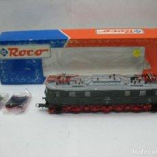 Trenes Escala: ROCO REF: 43662 - LOCOMOTORA ELÉCTRICA 218 019-8 CORRIENTE CONTINUA - ESCALA H0. Lote 100217195
