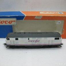 Trenes Escala: ROCO - LOCOMOTORA DIESEL RENFE RENFE CORRIENTE CONTINUA - ESCALA H0. Lote 103031155