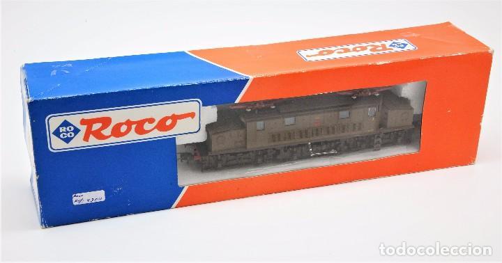 Trenes Escala: LOCOMOTORA ROCO 43501 - LOCOMOTORA ELECTRICA FS MODELO E 626 CASTANO ISABELLA - CORRIENTE CONTINUA - Foto 2 - 103752667
