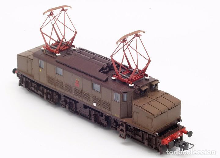 Trenes Escala: LOCOMOTORA ROCO 43501 - LOCOMOTORA ELECTRICA FS MODELO E 626 CASTANO ISABELLA - CORRIENTE CONTINUA - Foto 7 - 103752667
