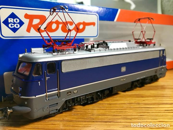 LOCOMOTORA ROCO ELÉCTRICA DIGITAL, REF 63697, DB E10.340 (Juguetes - Trenes a Escala H0 - Roco H0)