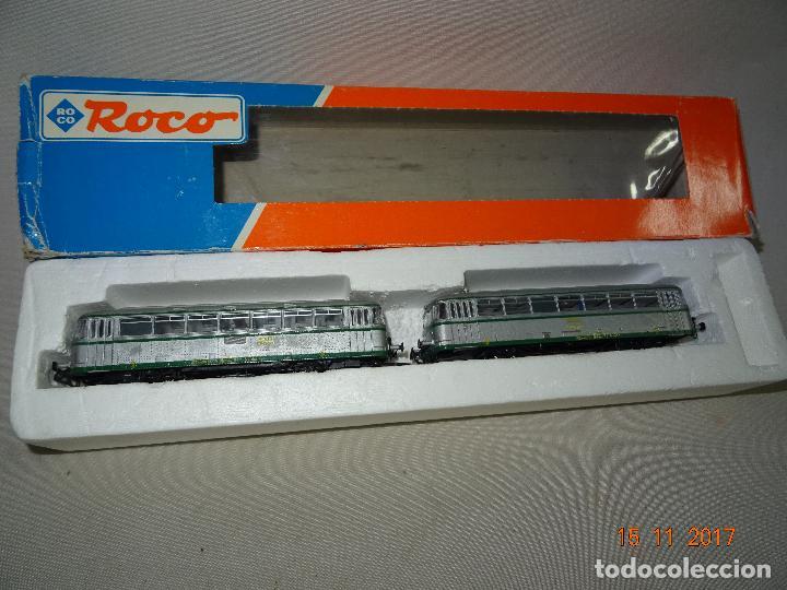 AUTOMOTOR RENFE *EL ABUELO* SET DE ROCO REF: 43063 - ESC. H0 CORRIENTE CONTINUA (Juguetes - Trenes a Escala H0 - Roco H0)