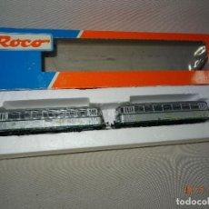 Trenes Escala: AUTOMOTOR RENFE *EL ABUELO* SET DE ROCO REF: 43063 - ESC. H0 CORRIENTE CONTINUA. Lote 103882615