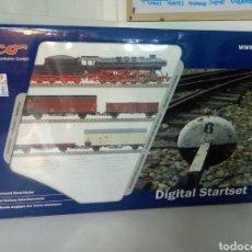 Trenes Escala: ¡¡¡NUEVO O COMO NUEVO!!! OPORTUNIDADAD SET INICIACION STARTSET ROCO 41303 DE LA DR ESCALA H0. Lote 104311443