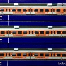 Trenes Escala: LOTE DE 3 VAGONES ROCO , REF 64270, 64271,64273, ILUMINADOS NUEVOS A ESTRENAR. Lote 104461503