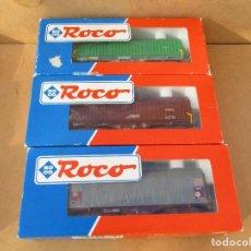 Trenes Escala: ROCO DOS CORREDERAS Y UNO TOLDO . Lote 104545707