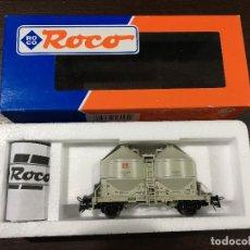 Comboios Escala: VAGÓN 2 EJES ROCO H0 46095 NUEVO. Lote 105335135