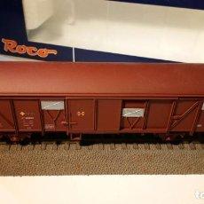 Trenes Escala: VAGÓN CERRADO J 600.000. RENFE. REF. 46691. ROCO. ESCALA H0.. Lote 106142079