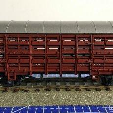 Trenes Escala: ROCO 4308 VAGÓN PORTAGANADO DB. Lote 110033511
